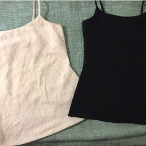 Express | 2 for 1 Textured Camisoles - S